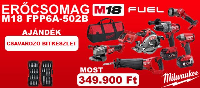 M18 FPP6A-502B Erőcsomag Akció!